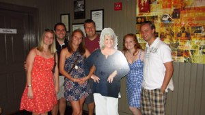 The group with Paula Deen