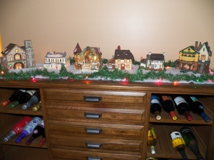 Christmas Village from my Grandma on my Dad's side:)