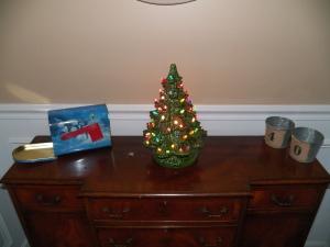 Christmas Tree from my Grandma on my Husband's side.