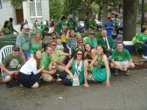 #6: Had a bunch of visitors for our first St. Patty's Day in Savannah:)