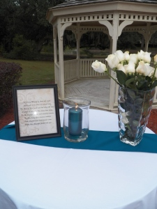 Memory candles for loved ones.