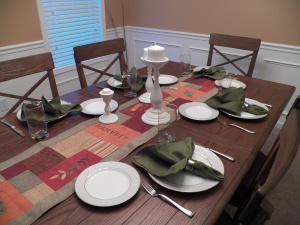 Table is set...