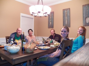 #2: Thanksgiving was a huge highlight! We hosted for the first time, and we had some of our siblings come to join us!