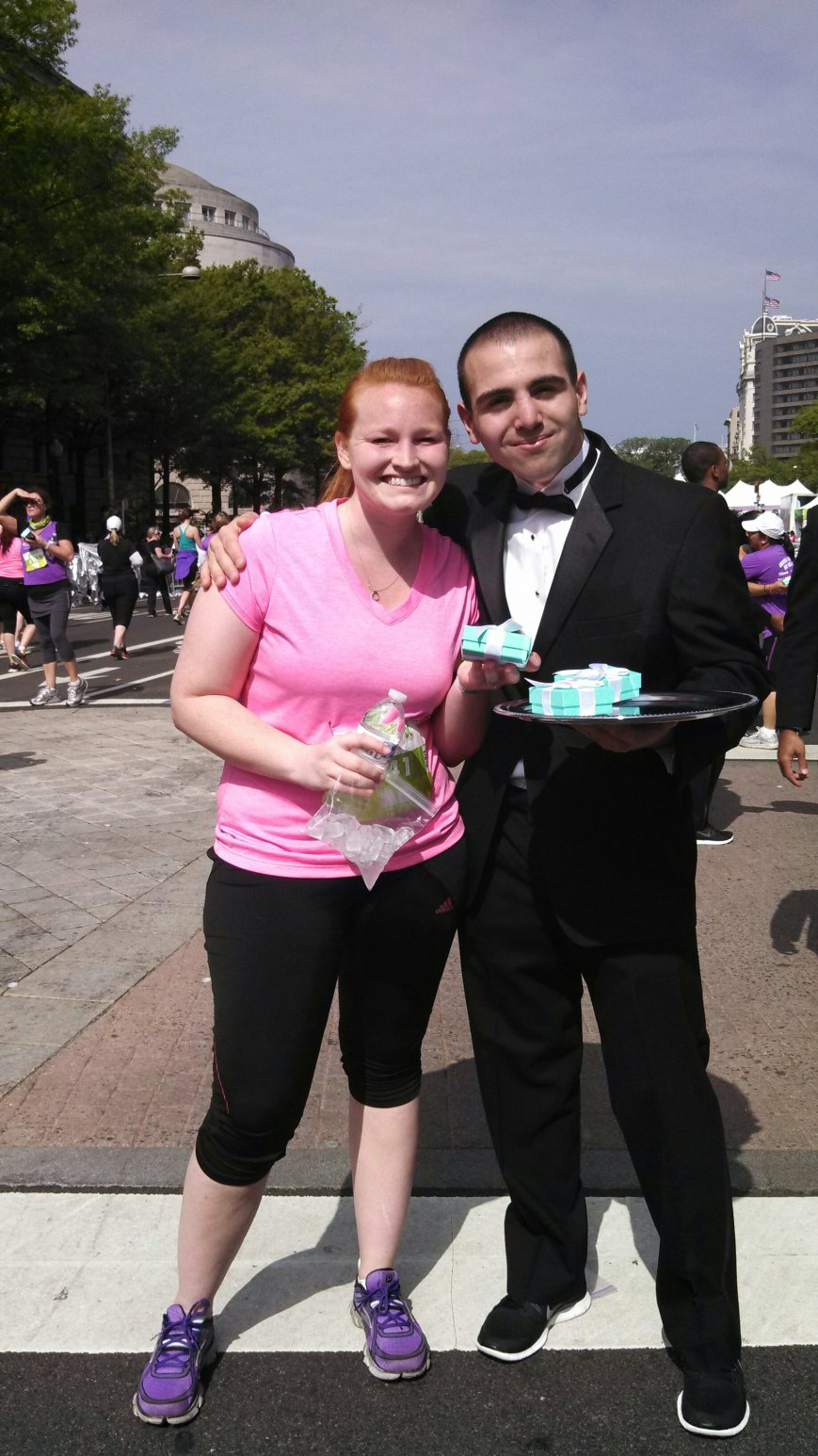NWM Half Marathon DC Finisher! Give me that box!