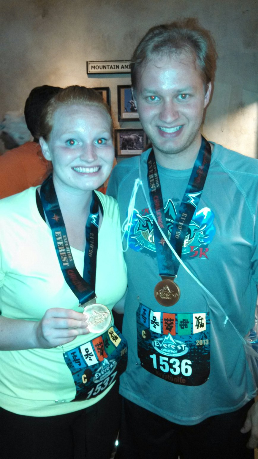 The medals were workable compasses:)