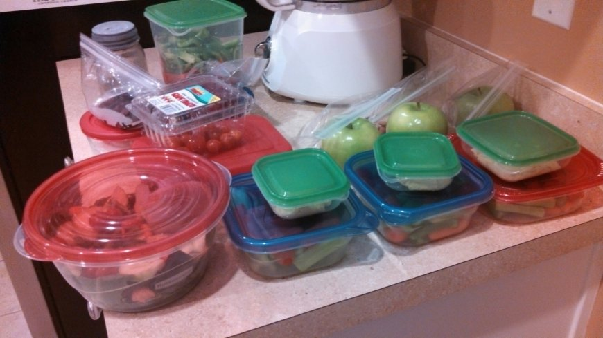 Week #1 Food Prep