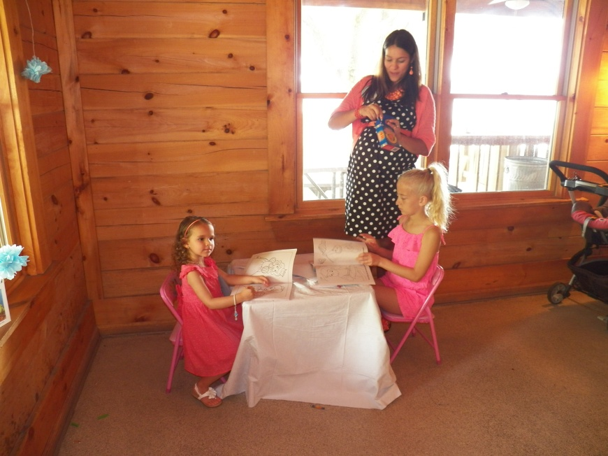 A kid's area is a must if your plan on inviting children:)