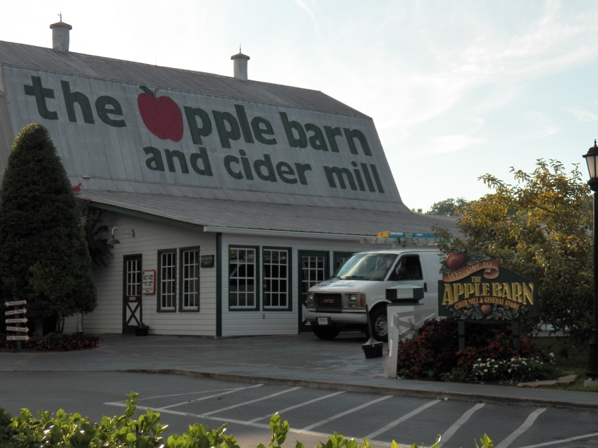 We always stop at The Apple Barn when we are in the area.