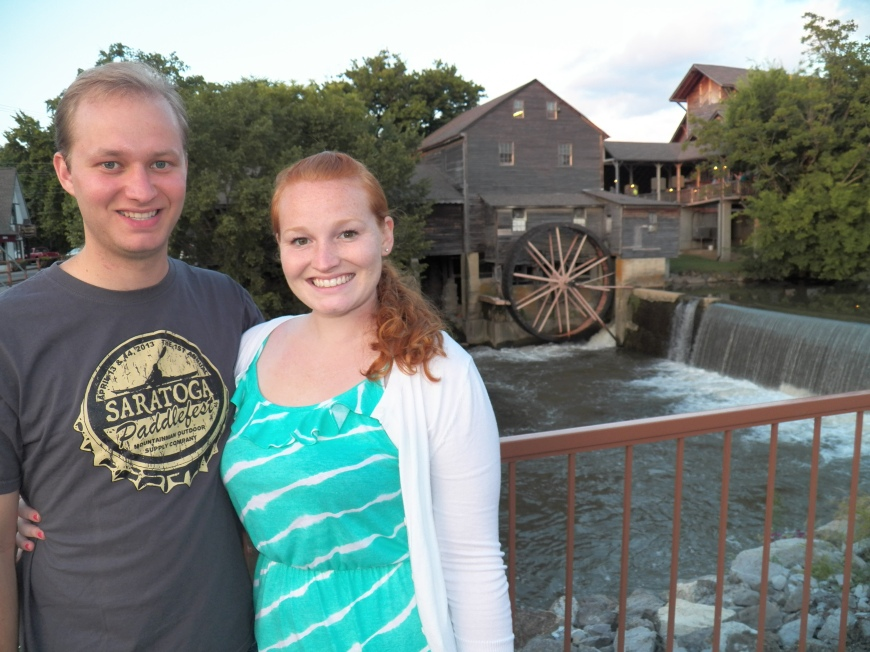 The Old Mill Restaurant in Pigeon Forge was delicious and a great picture spot!