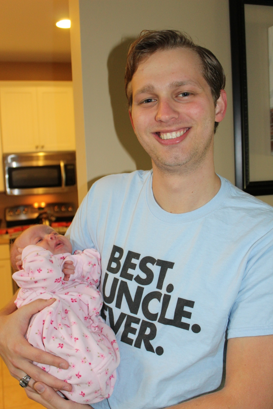 She met her Uncle Hunter!