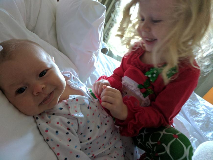 She loves her cousin Avery!